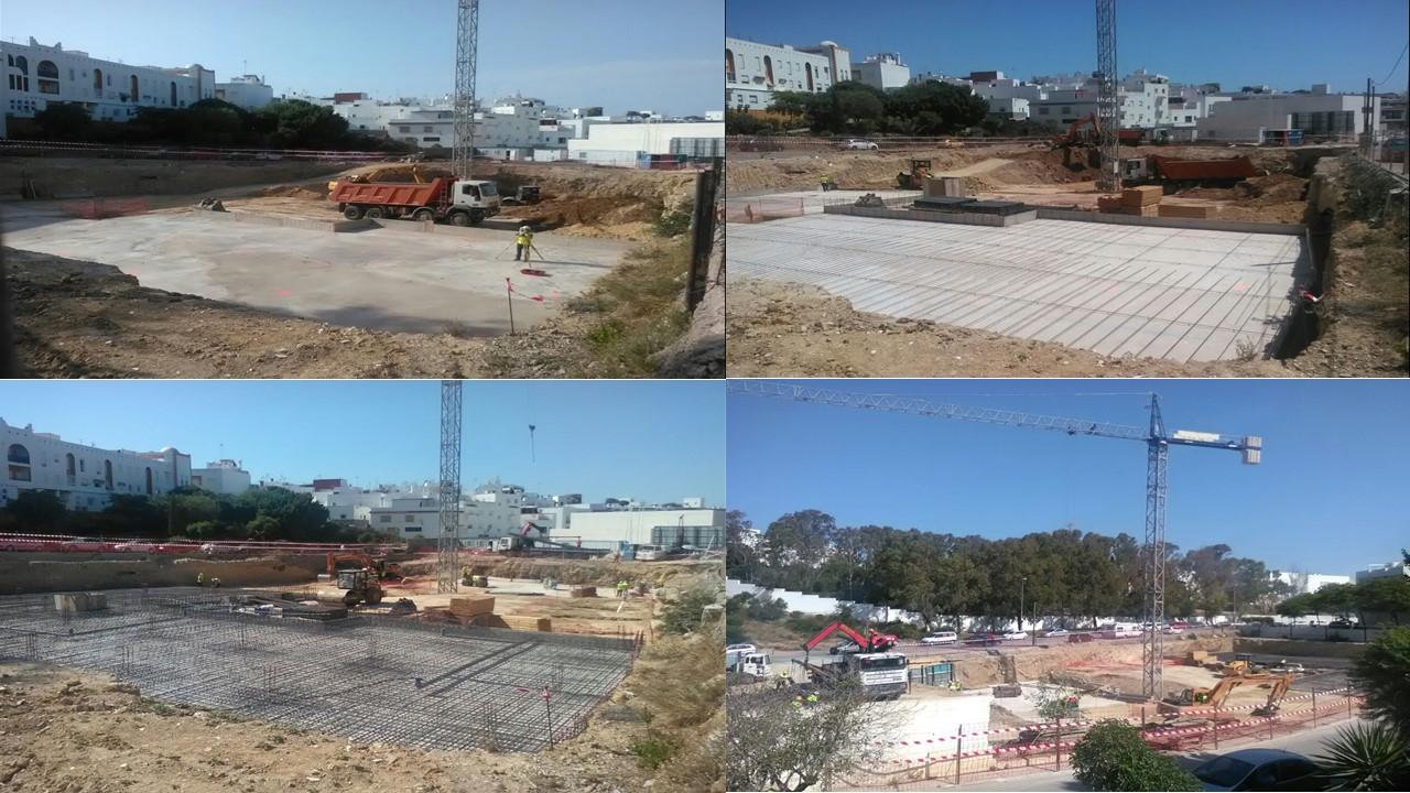 EVOLUCIÓN TRABAJOS DE CIMENTACIÓN