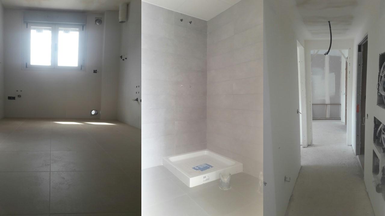 Evoluci n obras trabajos en interiores de viviendas for Interiores de viviendas