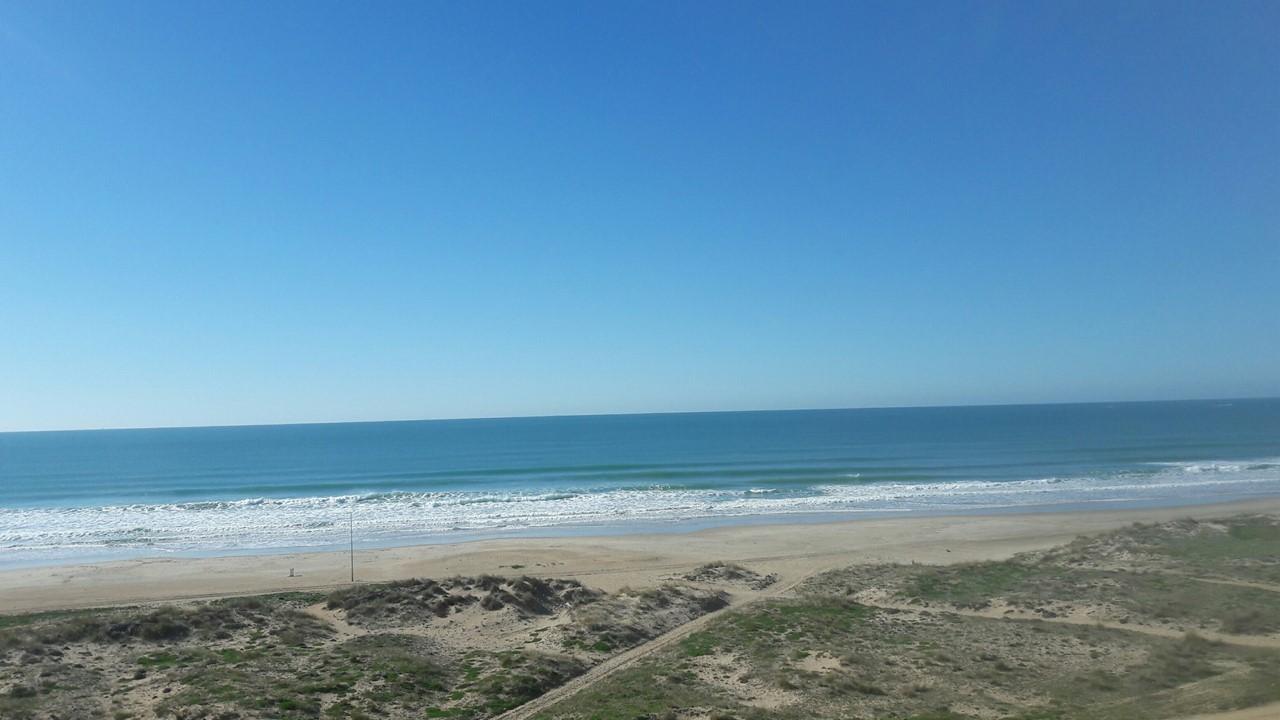 La Playa de Conil en Enero