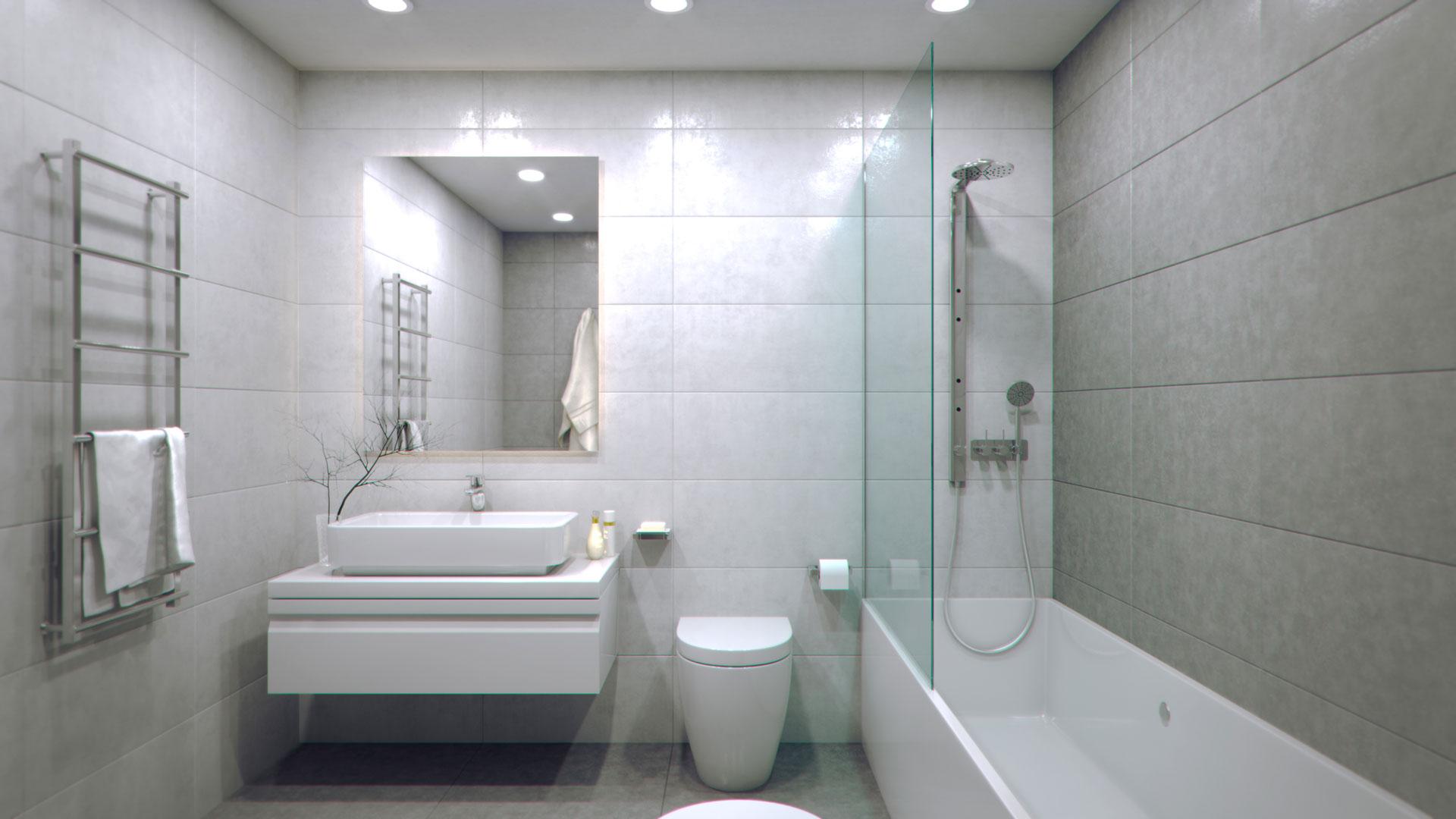 Estilo design residencial conil costa for Banos en tonos grises